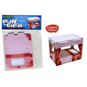 (Critters Choice) Small Animal Play n Chew Four Poster Bed