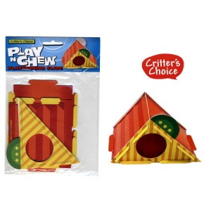 (Critters Choice) Small Animal Play n Chew Playground Slide