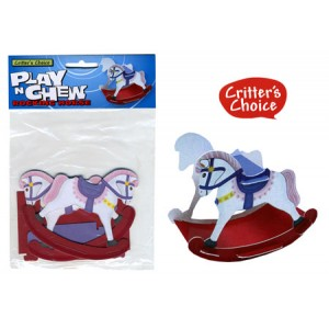 (Critters Choice) Small Animal Play n Chew Rocking Horse