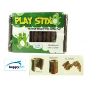 (happypet) Small Animal Cage Accessories Play Stix Wooden Hideout Med