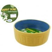 (happypet) Small Animal Rabbit Feeding Bowl