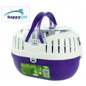 happypet Small Animal Carrier  Small Purple