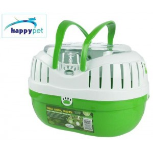 happypet Small Animal Carrier Green
