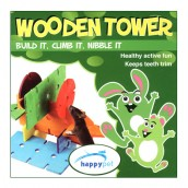 (happypet) Small Animal Wooden Tower