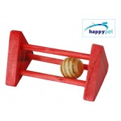 (happypet) Small Animal Wooden Rattler Triangle