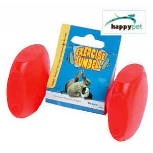 (Happypet) Small Animal Exercise Dumbell