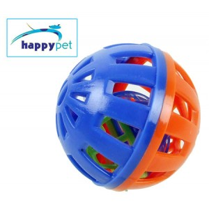 (happypet) Small Animal Play Ball Small Blue/Orange