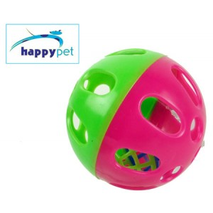 (happypet) Small Animal Play Ball Large Pink