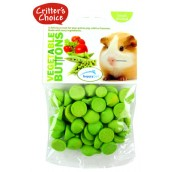 (Critters Choice) Small Animal Vegetable Buttons 40g