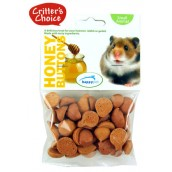 (Critters Choice) Small Animal Honey Buttons 40g