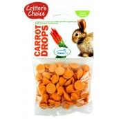 (Critters Choice) Small Animal Carrot Drops 75g