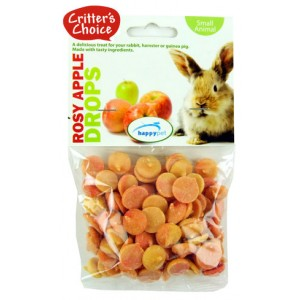 (Critters Choice) Small Animal Rosy Apple Drops 75g