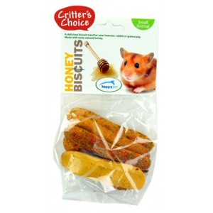 (Critters Choice) Small Animal Honey Biscuits 50g