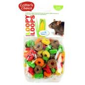 (Critters Choice) Small Animal Loopy Loops Sugar Free 50g