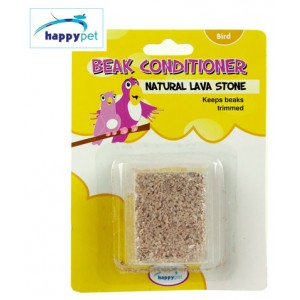 (happypet) Bird Health Beak Conditioner Natural Lava Stone