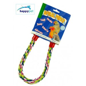 (happypet) Spiral Cotton Perch 21inch