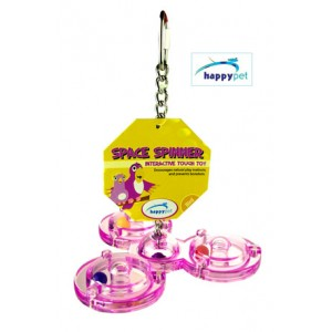 (happypet) Bird Space Spinner Interactive Tough Toy