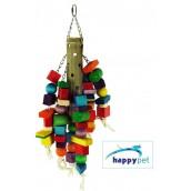 happypet Bamboo Puzzle Large Bird Toy