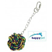 Knuts For Knots Ball On A Chain Bird Toy